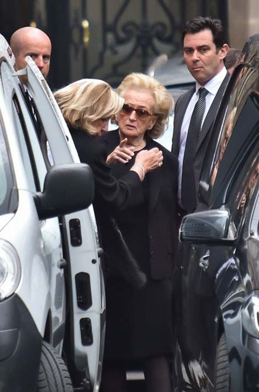 Bernadette Chirac et Maryvonne Pinault
