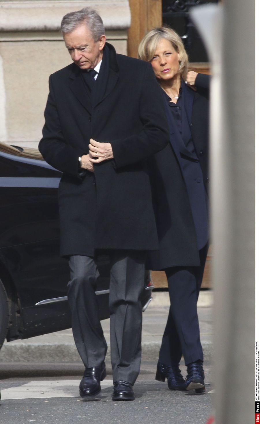 Bernard Arnault et sa femme Hélène
