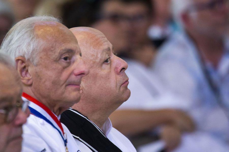 Thierry Marxla cérémonie hommage àJoël Robuchon à Poitiers vendredi