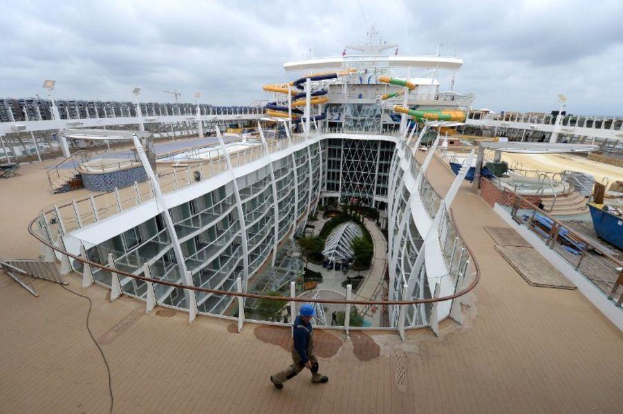 Le plus gros paquebot du monde prend la mer