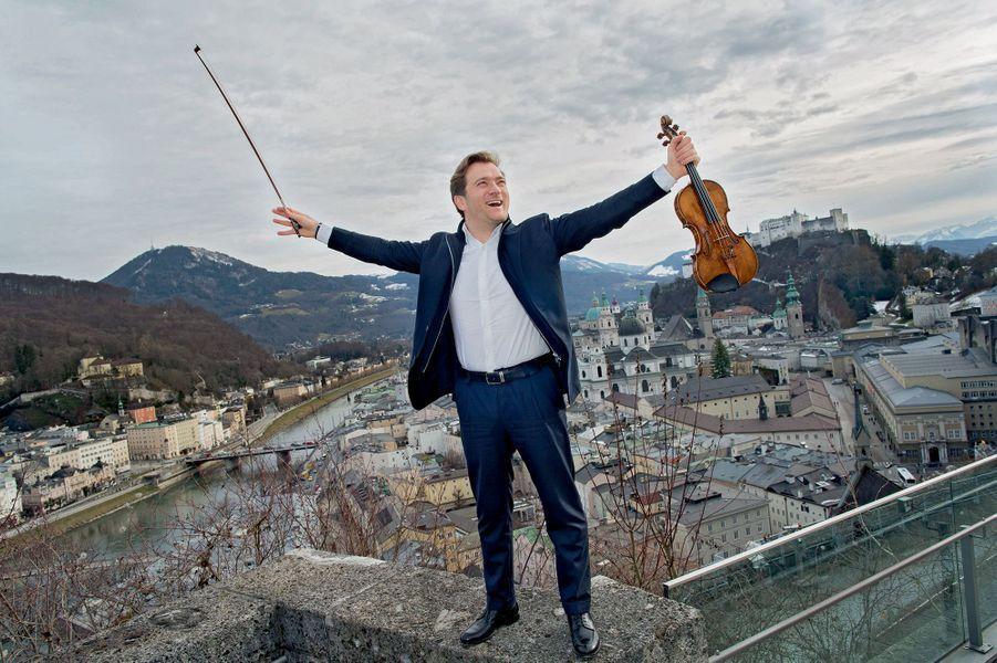 Légion d'honneur: le violoniste Renaud Capuçon a été fait chevalier.
