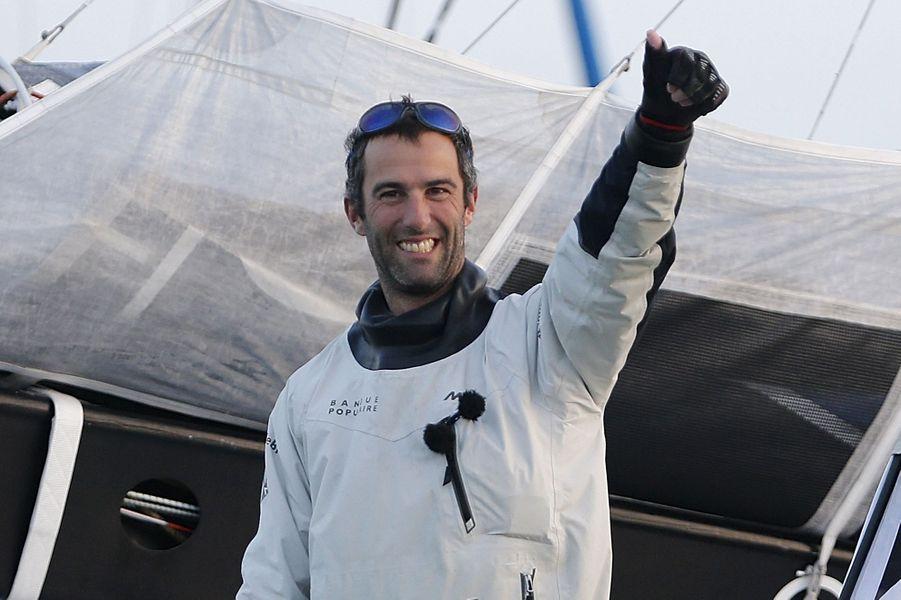 Le navigateur Armel Le Cléac'h, vainqueur du Vendée Globe (chevalier).