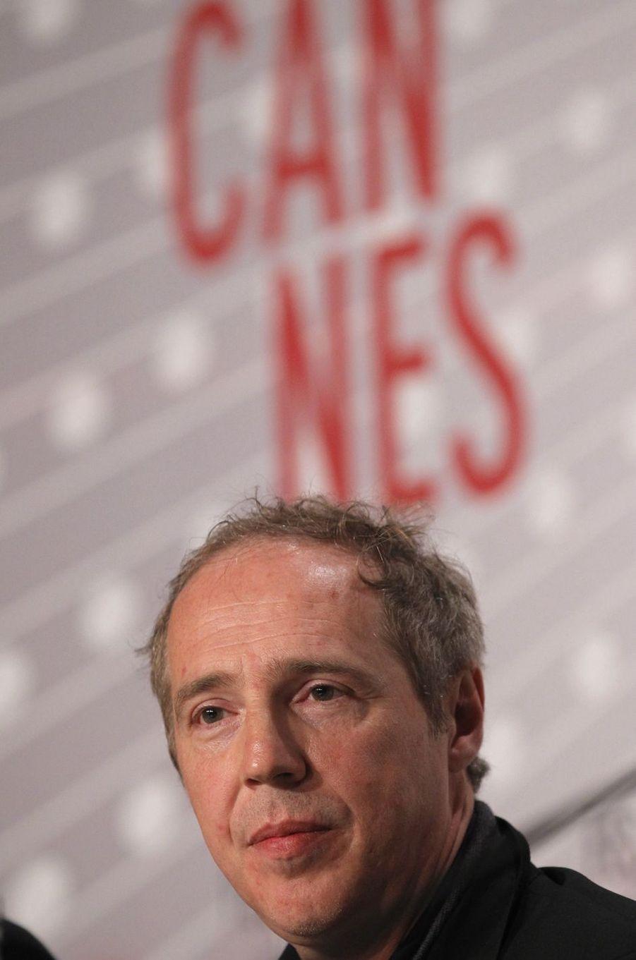 Le réalisateur Arnaud Desplechin (chevalier).