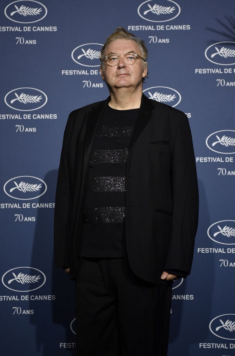 L'agent des stars Dominique Besnehard (officier).