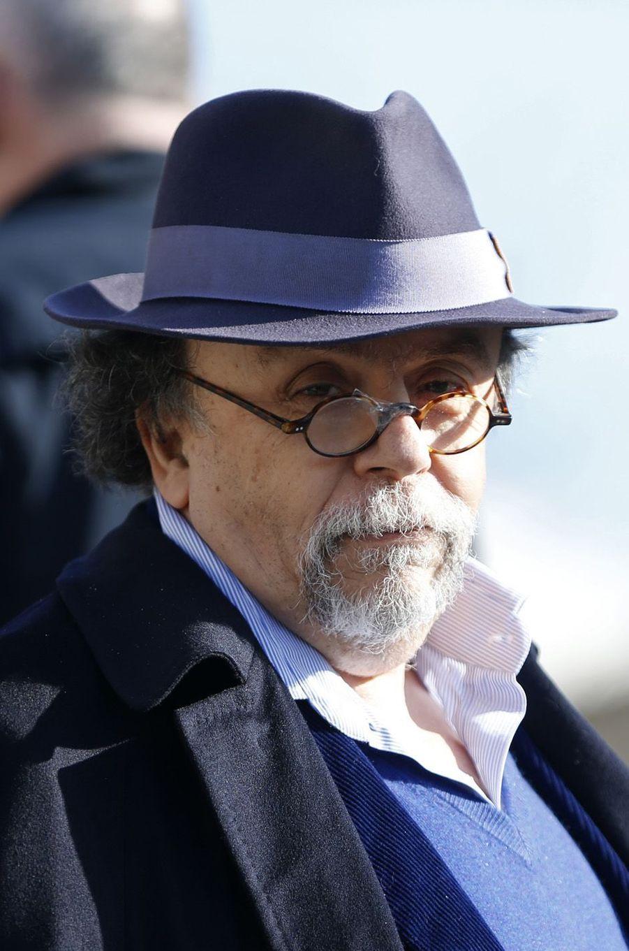 Le metteur en scène Jean-Michel Ribes, directeur du théâtre du Rond-Point à Paris (officier).