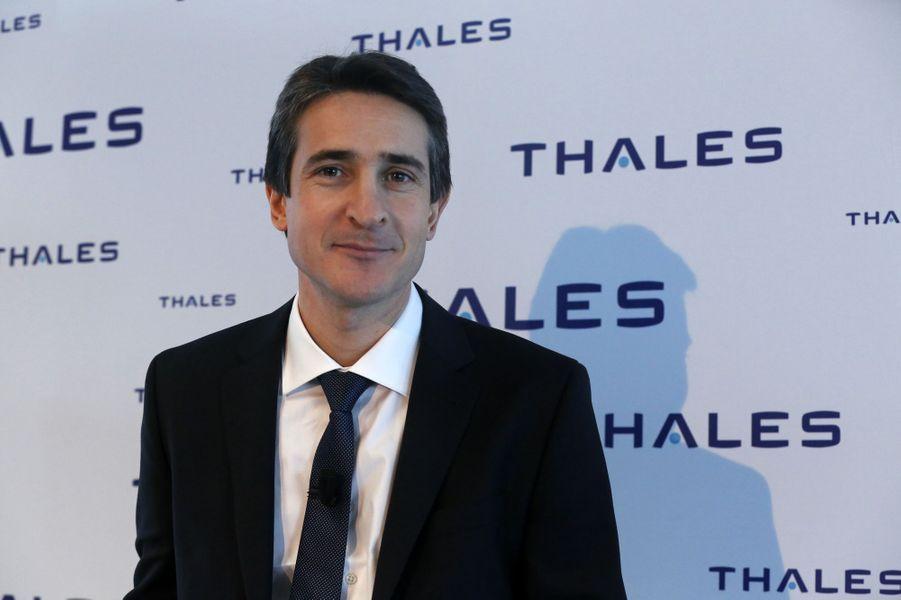 Le PDG de Thales Patrice Caine (chevalier).