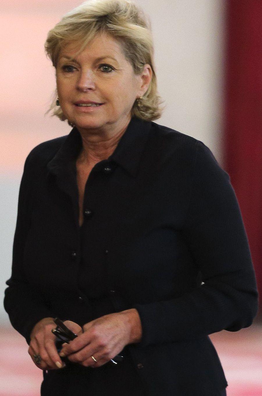Sylvie Hubac, ex-directrice de cabinet du président et actuelle présidente de la Réunion des musées nationaux et du Grand Palais (commandeur).