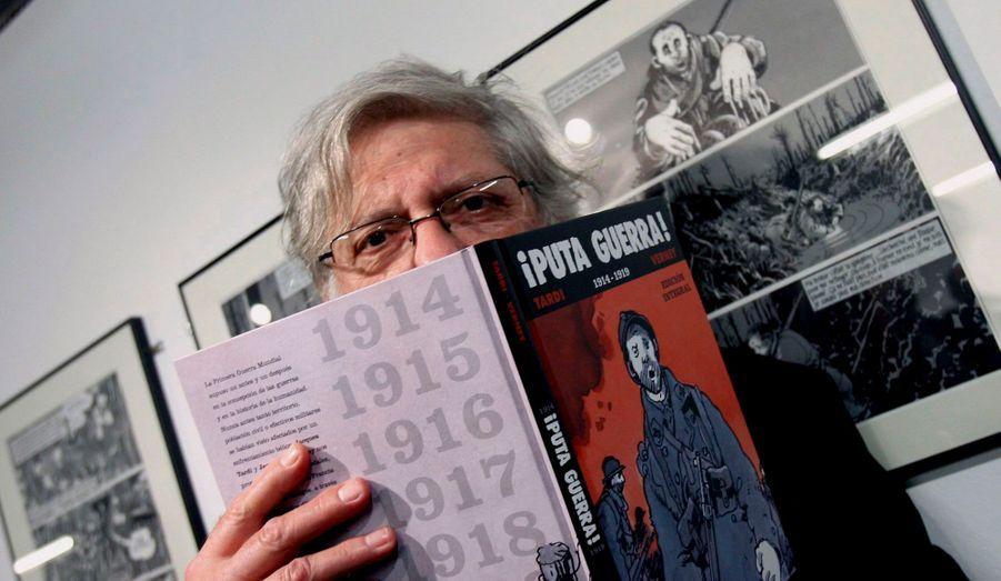 Jacques Tardi, dessinateur, au grade de chevalier