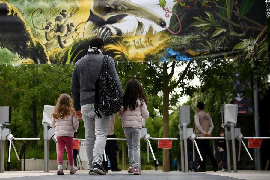 Le zoo de Vincennes, le 8 juin 2020.