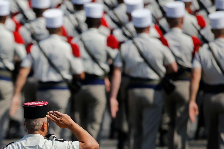 Des soldats de la Légion étrangère