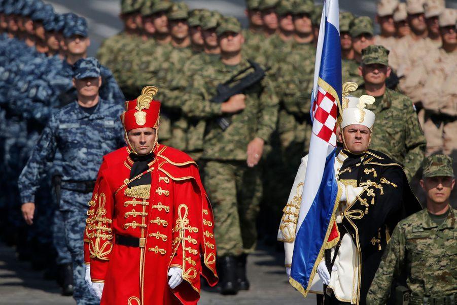Un détachement interarmées croate