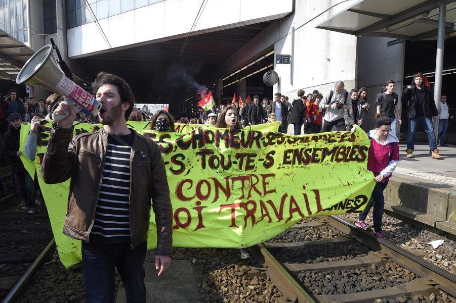 Manifestation à Rennes ce jeudi 17 mars 2016