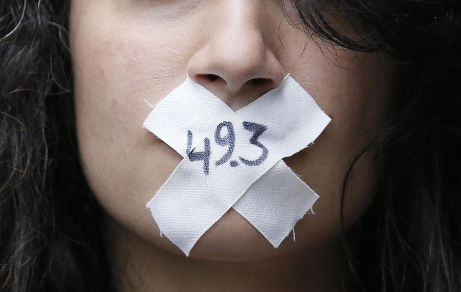 Manifestation contre la Loi Travail : Coup de chaud aux Invalides