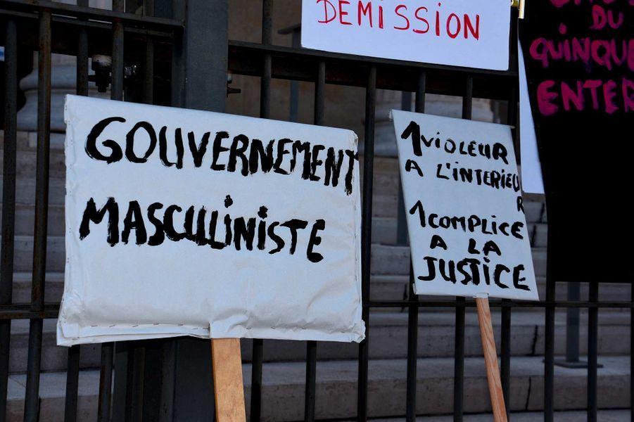 Affichage à Marseille, le 10 juillet 2020.
