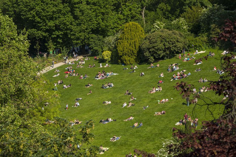 Le parc des Buttes Chaumont (19e)