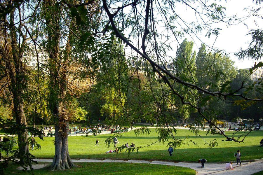 Le parc Sainté Périne (16e)
