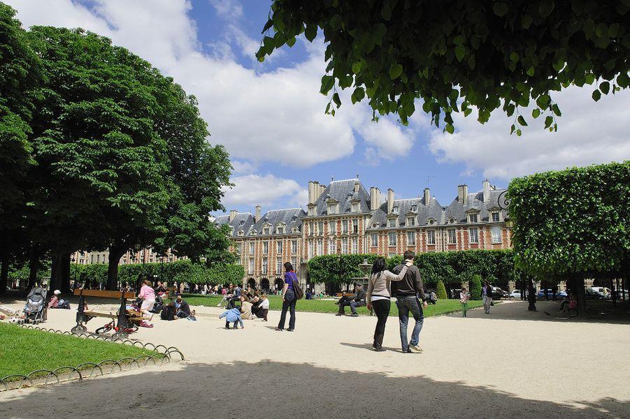 Le parc Louis XIII (4e)