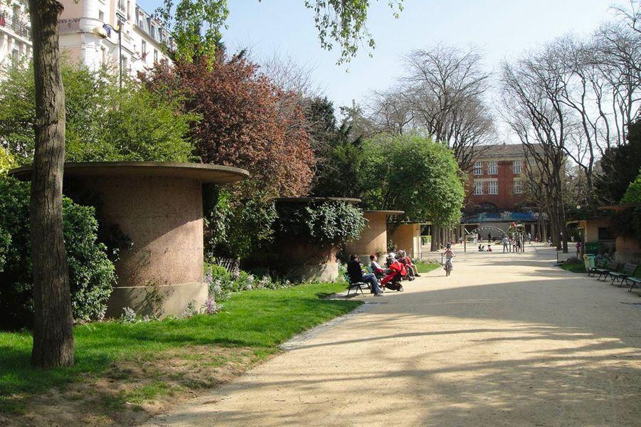 Le square du Sergent Aurélie Salel (20e)