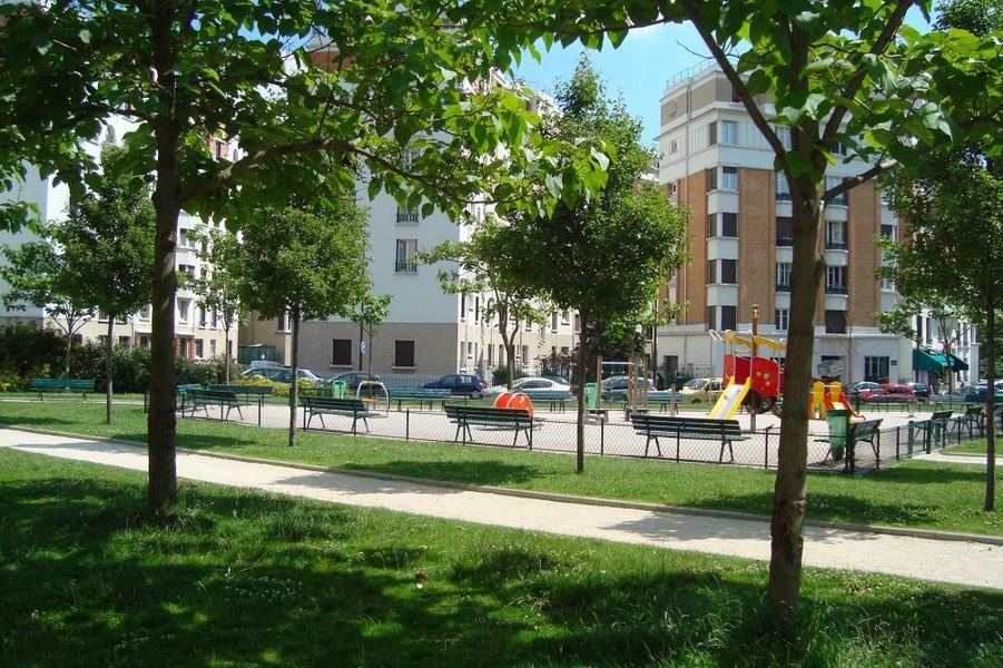 Le square Émile Cohl (12e)