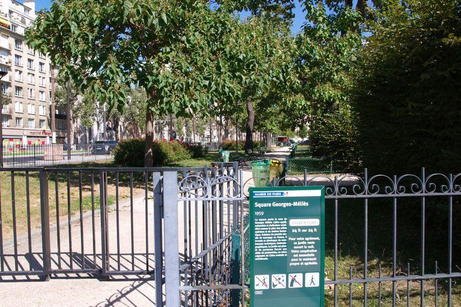 Le square Georges Méliès (12e)