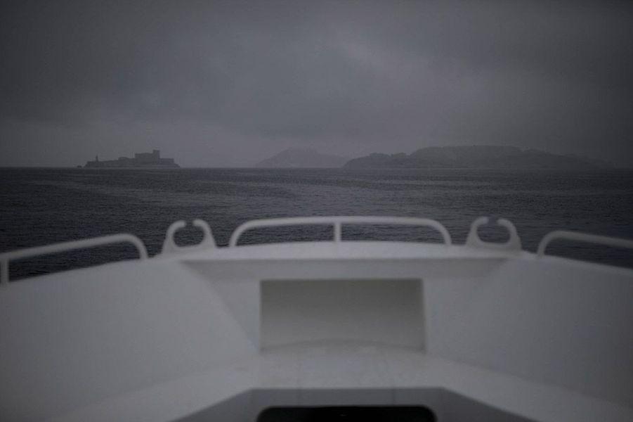 Les navettes sont vides entre le Vieux-Port de Marseille et les Iles du Frioul.