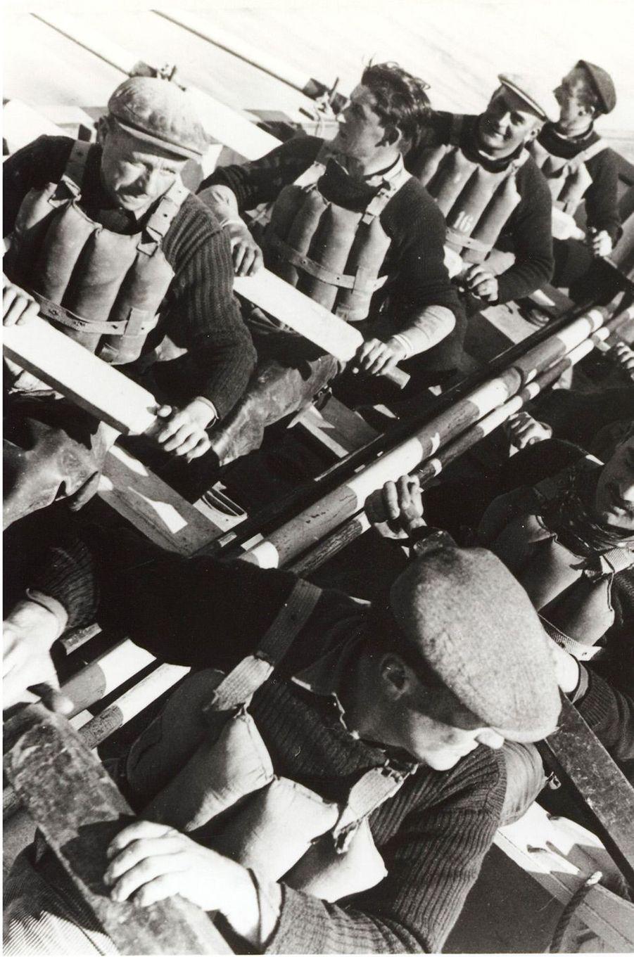 1954, canot de sauvetage Paul Tourreil.