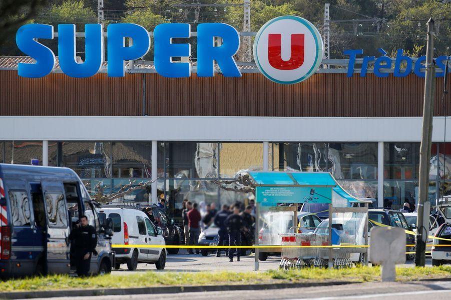 Le supermarché de Trèbes a été le théâtre d'une prise d'otage revendiquée par Daech.