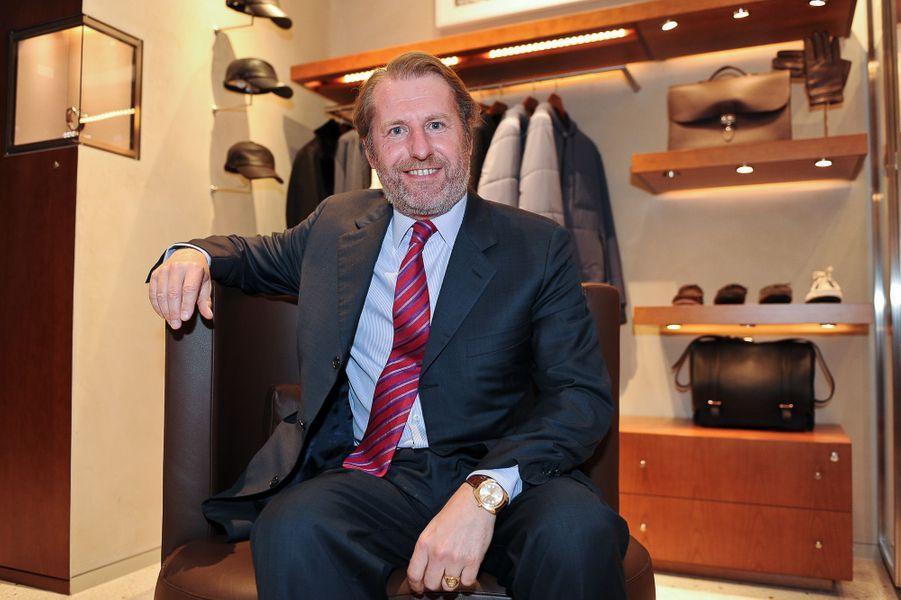 Guillaume de Seynes, directeur général d'Hermès, fait partie dela promotion du 14 juillet de la Légion d'honneur.