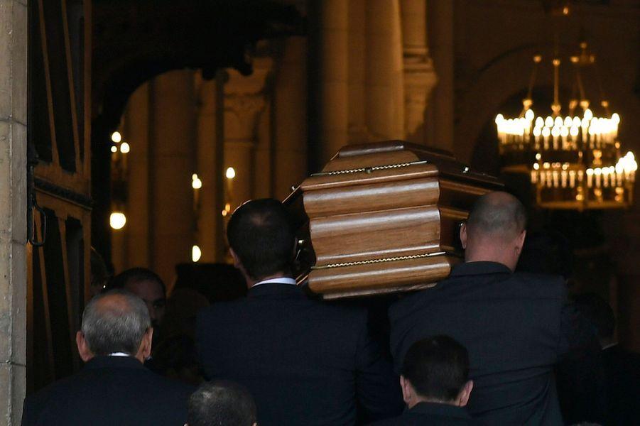 Les obsèques de Liliane Bettencourt se sont déroulées à Neuilly-sur-Seine.