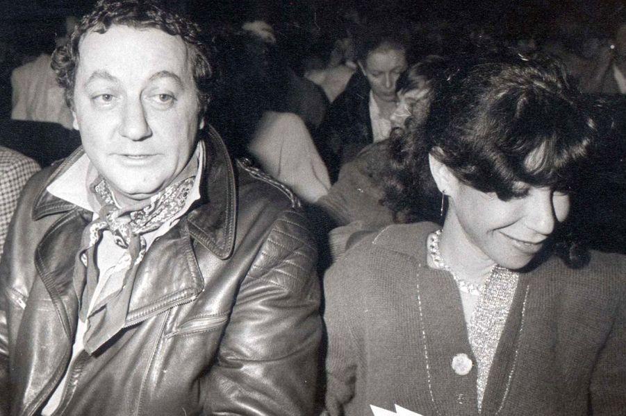Véronique Colucci et Coluche