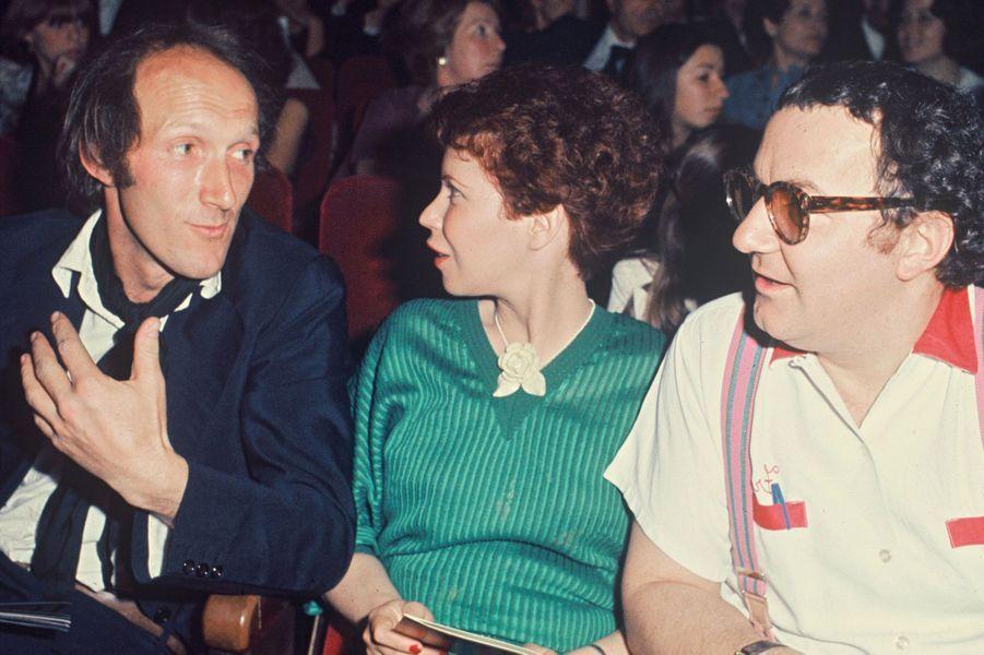 Véronique Colucci et Coluche en 1976
