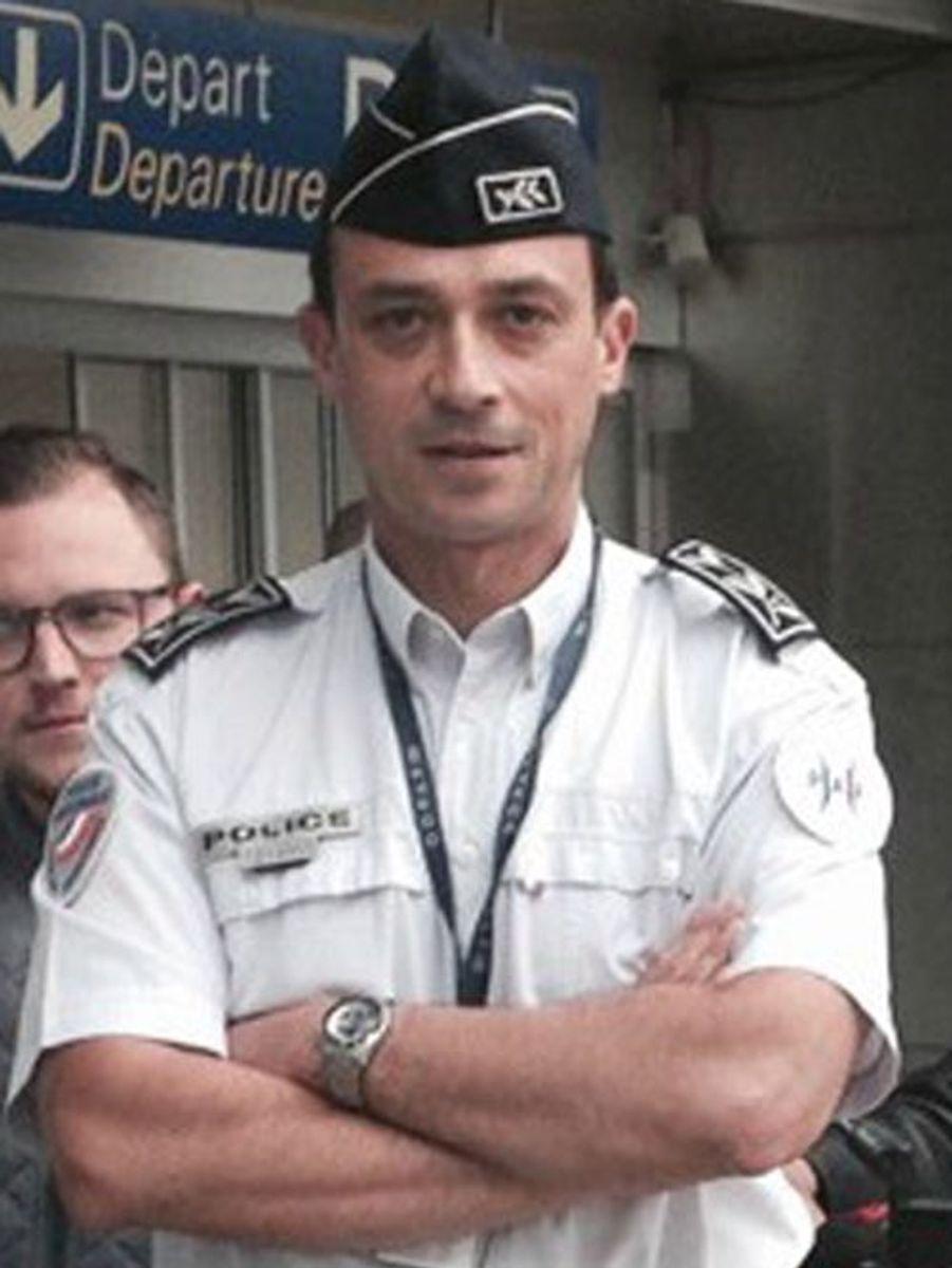Emmanuel Grout, 48 ans, commissaire de police