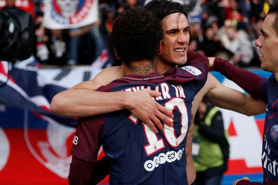 Edinson Cavani est devenu samedi le meilleur buteur de l'histoire du PSG.