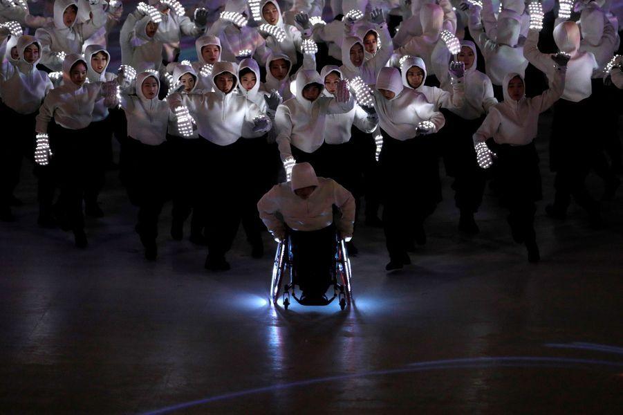 La cérémonie d'ouverture des Jeux Paralympiques s'est tenue vendredi à Pyeongchang.