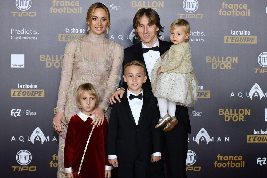 Luka Modric en famille