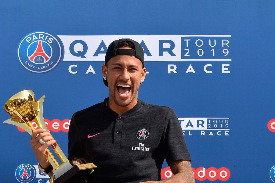 Neymar et le coach Thomas Tuchel ont remporté les deux premières courses.