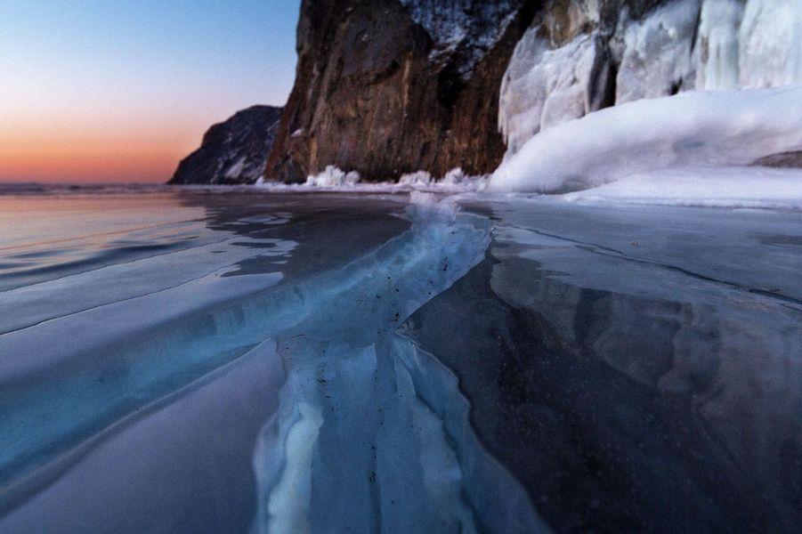 Le lac Baïkal en Sibérie.