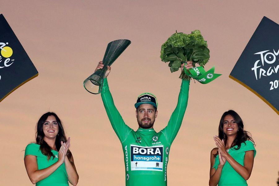 Peter Sagan, le Slovaque, a ramené à Paris pour la septième fois le maillot vert du classement par points