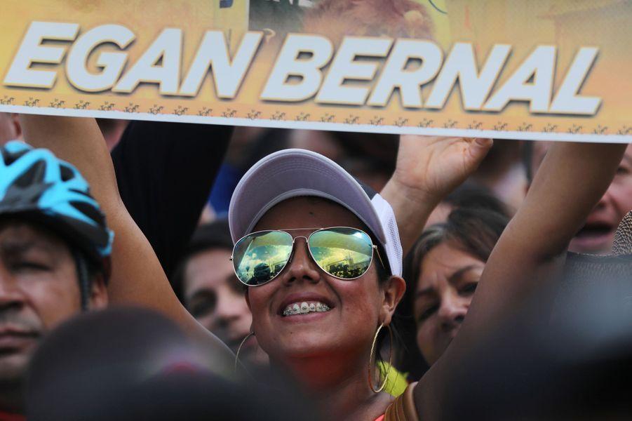 Victoire assurée: le Colombien Egan Bernal (Ineos) a remporté la 106e édition du Tour de France, dimanche en soirée sur les Champs-Elysées, après le sprint de la dernière étape gagné par l'Australien Caleb Ewan (Lotto).