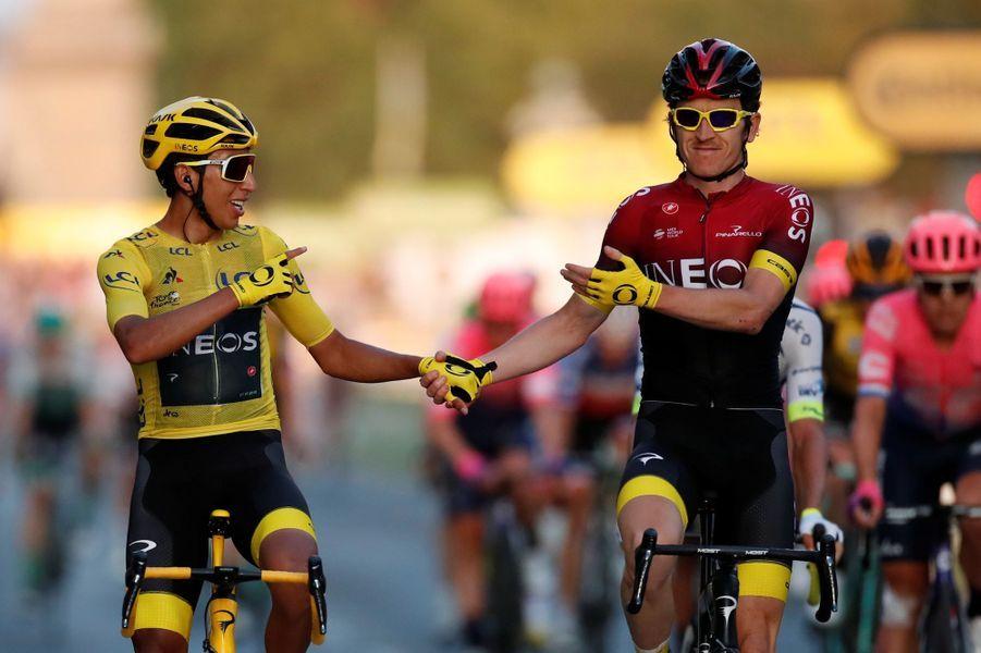 L'Australien Caleb Ewan a remporté l'ultime étape de ce Tour de France 2019 qui restera dans les mémoires. Le Colombien Egan Bernal a remporté lui son premier Tour de France à seulement 22 ans.