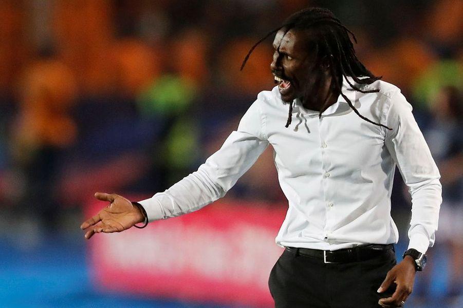Aliou Cissé, le sélectionneur sénégalais
