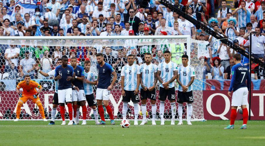 France Argentine : Le 8e De Finale De La Coupe Du Monde 2018 En Photos ( 25