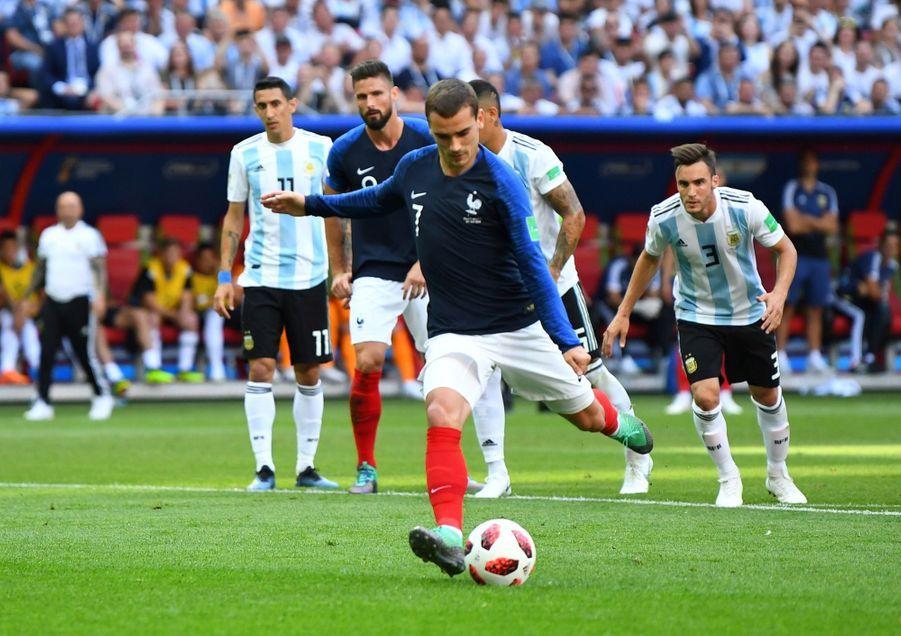 France Argentine : Le 8e De Finale De La Coupe Du Monde 2018 En Photos ( 31