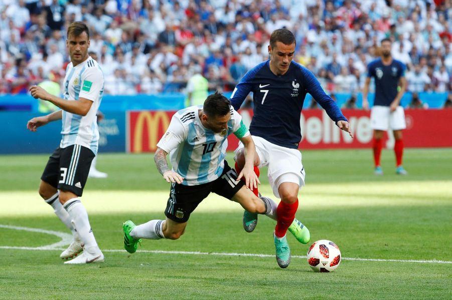 France Argentine : Le 8e De Finale De La Coupe Du Monde 2018 En Photos ( 45