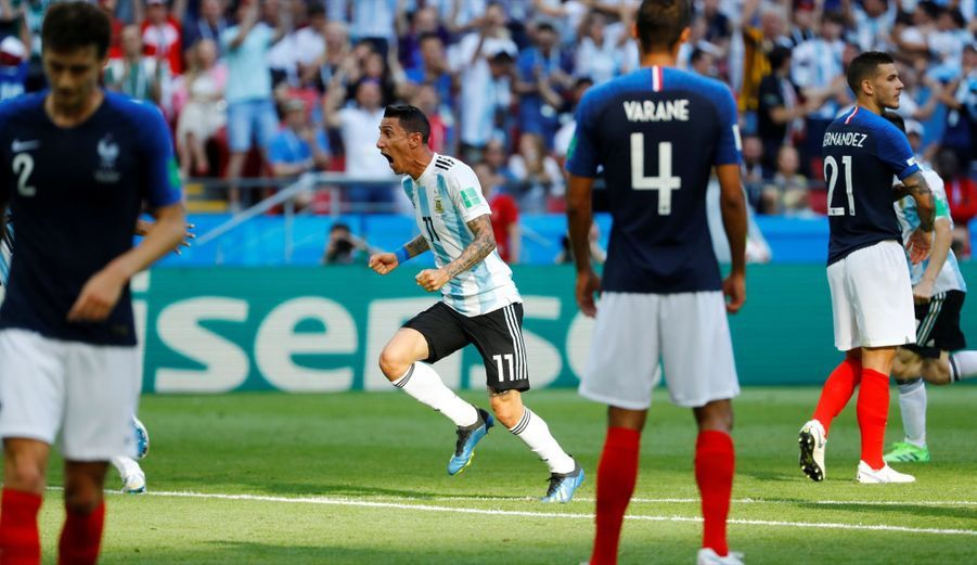 France Argentine : Le 8e De Finale De La Coupe Du Monde 2018 En Photos ( 55