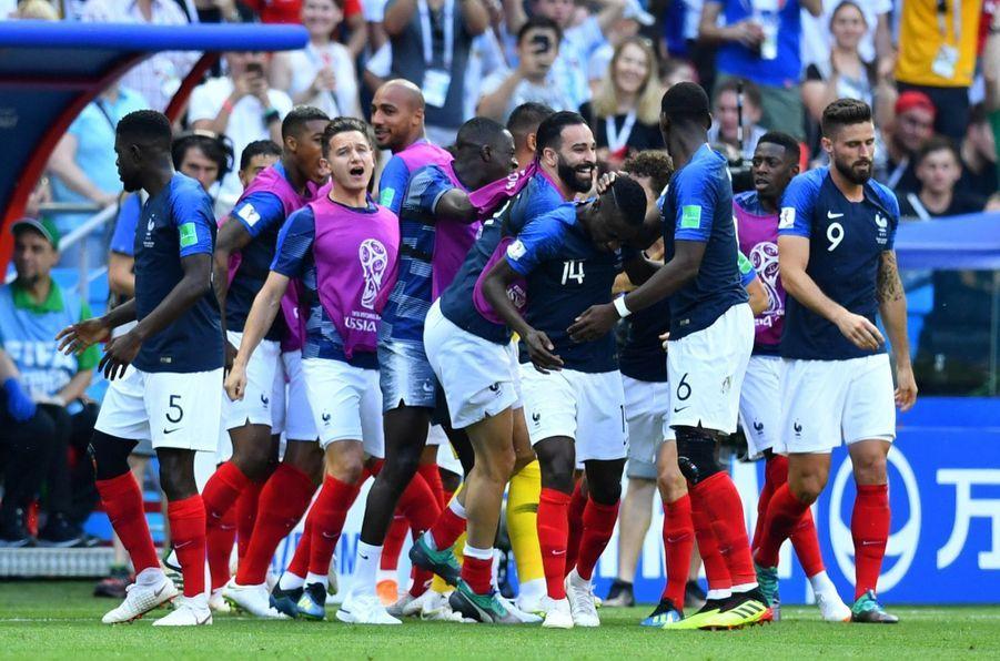 France Argentine : Le 8e De Finale De La Coupe Du Monde 2018 En Photos ( 68