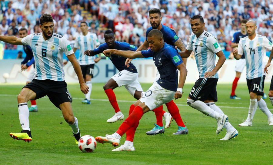 France Argentine : Le 8e De Finale De La Coupe Du Monde 2018 En Photos ( 69