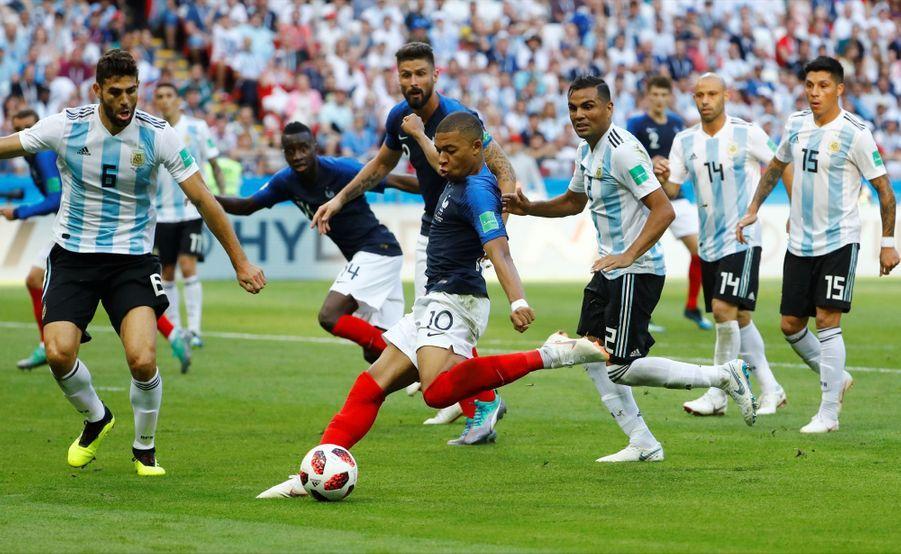 France Argentine : Le 8e De Finale De La Coupe Du Monde 2018 En Photos ( 70