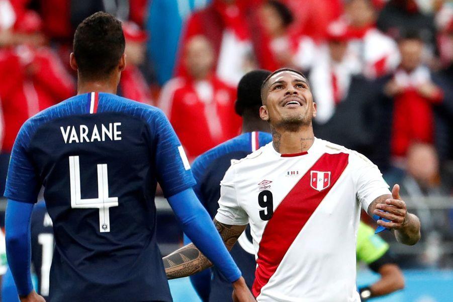 Coupe Du Monde 2018: France Pérou En Photos 17