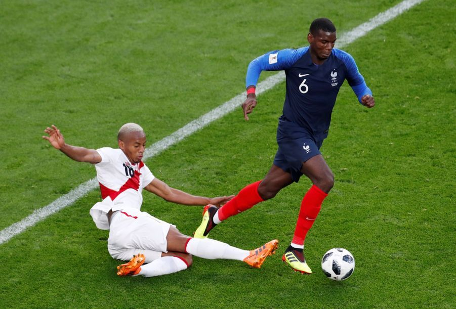 Coupe Du Monde 2018: France Pérou En Photos 36